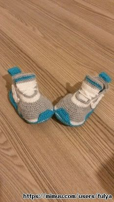 Bebek Nike Patik ,  #örgünikepatik , İstenilen renk ve modelde sipariş alınır.  ...