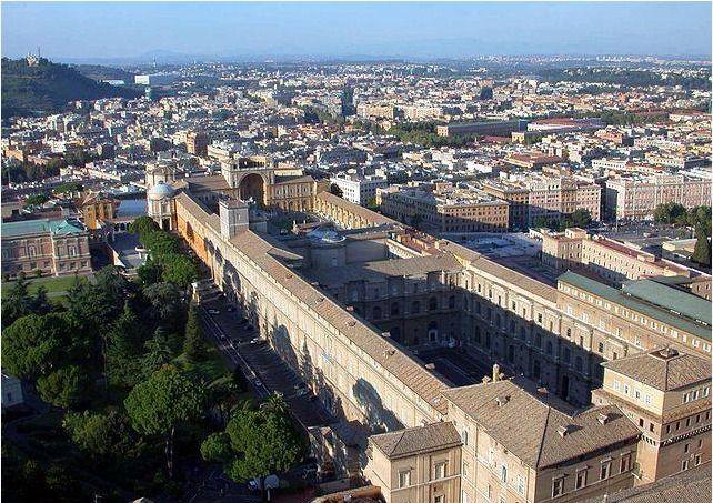 Vatikansöfnin, Vatikaninu í Róm