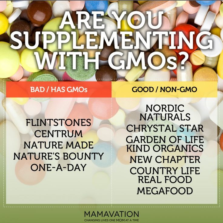 Are you supplementing with GMOs?BEST GMO FREE vitamins.