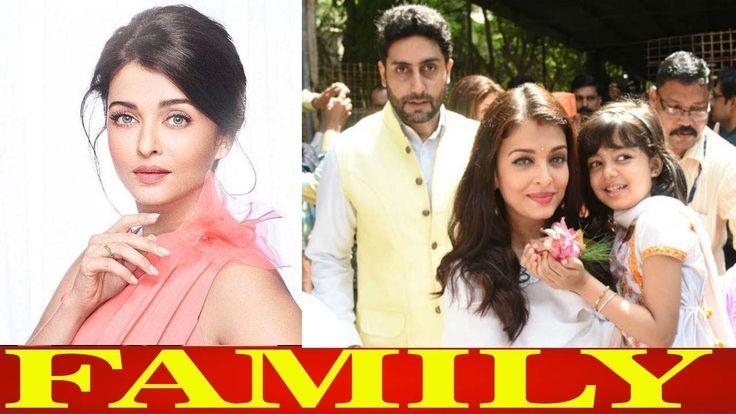 Bollywood Actress Aishwarya Rai Bachchan With Family