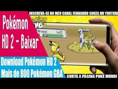 Pokémon HD 2 - Hack Rom Download 2019 GBA PT-BR - YouTube