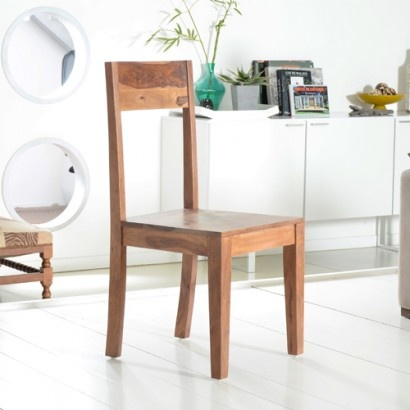 Stuhl aus Palisander Mezzo Tikamoon