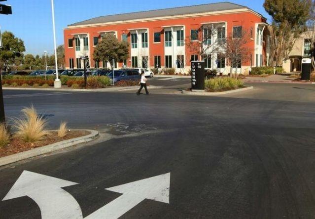 Facebook brand new headquarters in Menlo Park, California