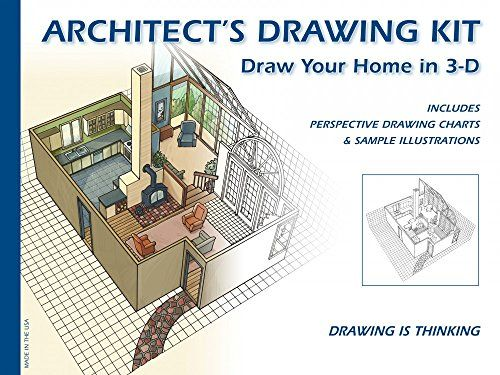 Architect's Drawing Kit: Draw Your Home in 3-D Design Works