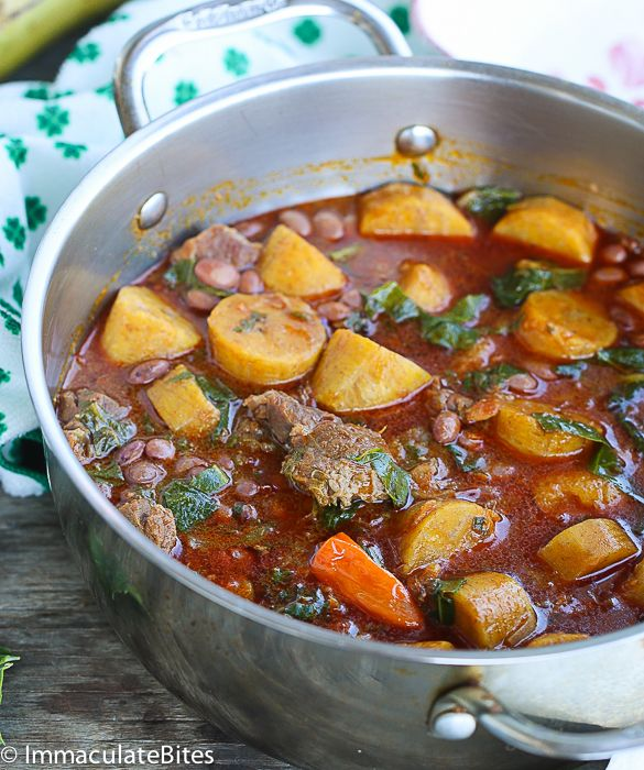 This is a very popular, exotic, highly spiced , Cameroonian one-pot-meal. It is widely known as Kondres and originated from the western part of Cameroon – specifically among the bamelieke tribe. To me, this is the ultimate African comfort food truly nurturing and delicious.  For the diet conscious, you may cut down on the …
