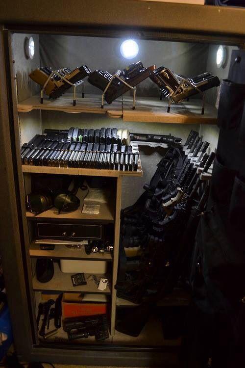 Sweet baby Jesus, that's a lot of guns