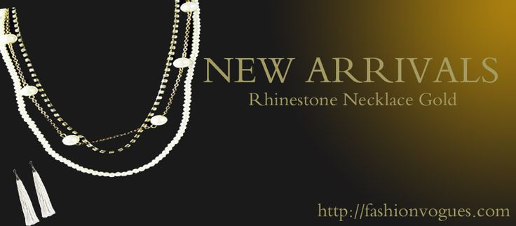 New arrivals of necklace set in fashion vogues that are very stylish look and create different personality. http://tinyurl.com/lxxxot8