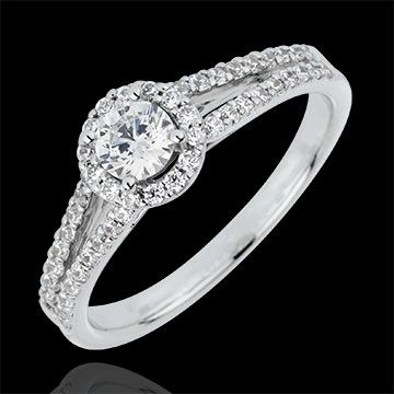 Bague de fiancaille diamant 2 carats