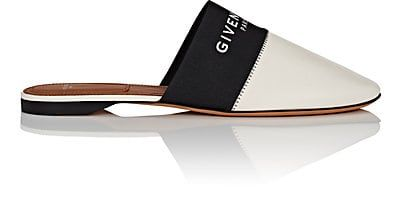 We Adore: The Bedford Leather Mules from Givenchy at Barneys New York