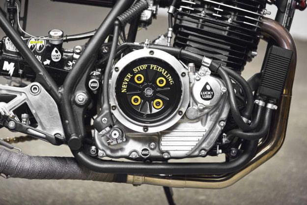 ABSOLUTE PERFEKTION: HONDA GB500 CAFE RACER BY 271 DESIGN