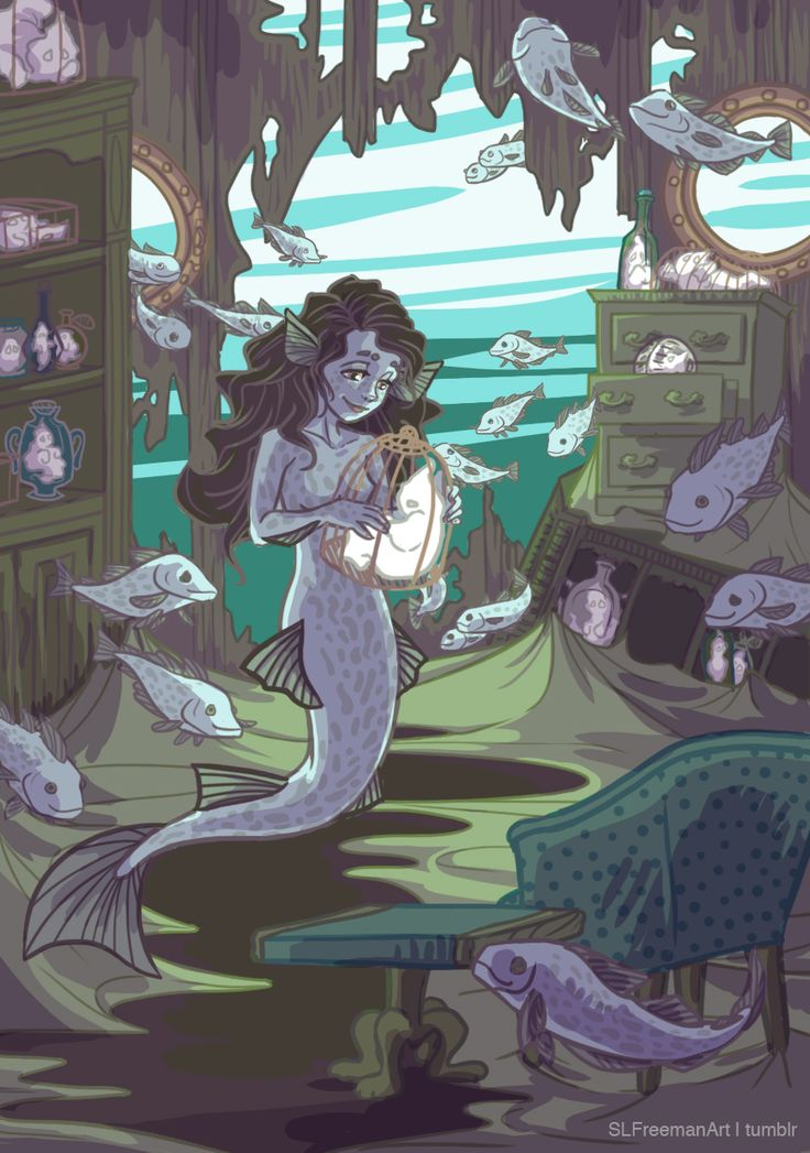 shannon-freeman: In Irish folklore, mermaids (called ...