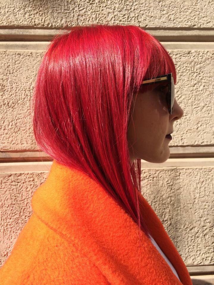 Red hair ....  Beautiful haircolor  www.edensalon.it