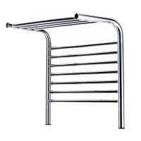 Jeeves Tangent M Polished Stainless Steel Heated Towel Shelf 555x520mm
