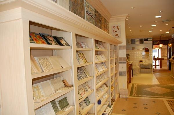 45 best tile display systems images on pinterest tile for Showroom flooring ideas