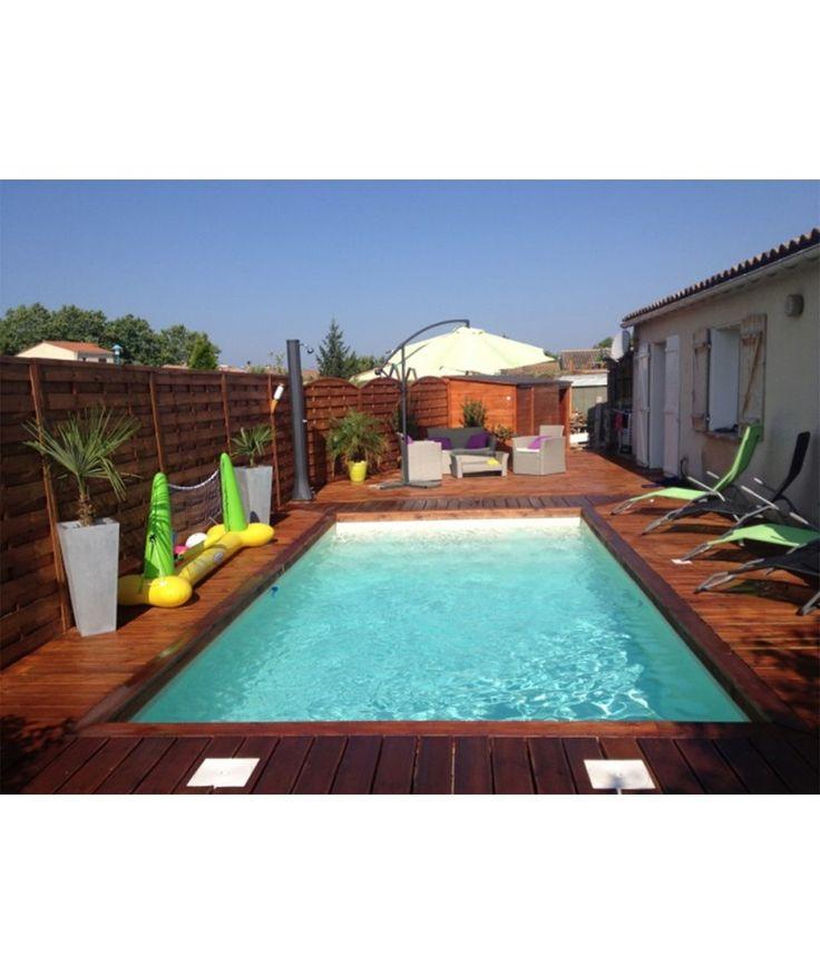 17 meilleures id es propos de piscine en kit sur pinterest decoration pis - Dalle piscine discount ...