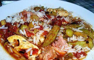 Recetas de Cocina Cubana y Postres deliciosos: Arroz con Quimbombó