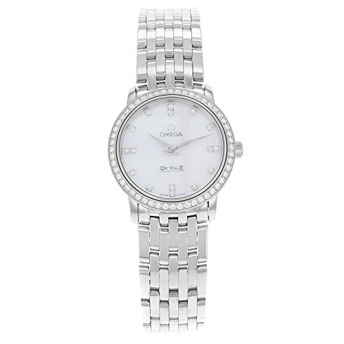 Omega Women's 413.15.27.60.55.001 DeVille Mother Of Pearl Dial Watch * Check...