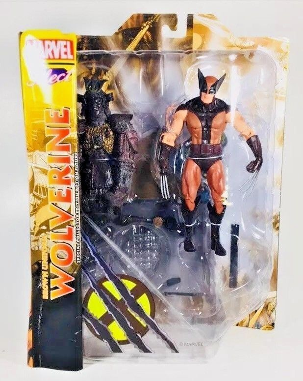 "Marvel Diamond Select Wolverine Movie Logan 7/"" Action Figure Loose"