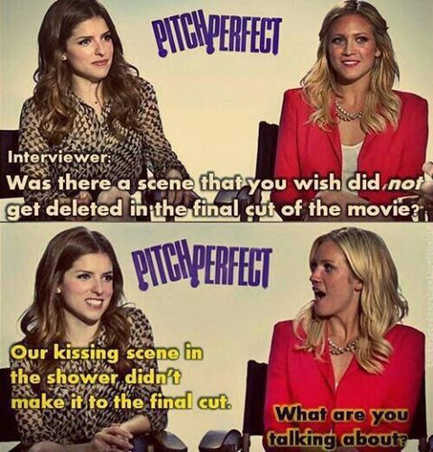 Pitch perfect. Love Anna Kendrick