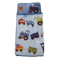 Tout-en-1: oreiller, matelas et couverture. Âge: 2 à 5 ans Idéale pour: garderie, préscolaire, voyage et chez grand-maman! S'enroule facilement a...