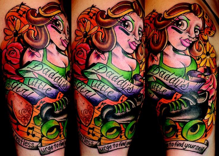 best floral tattoo artists philadelphia