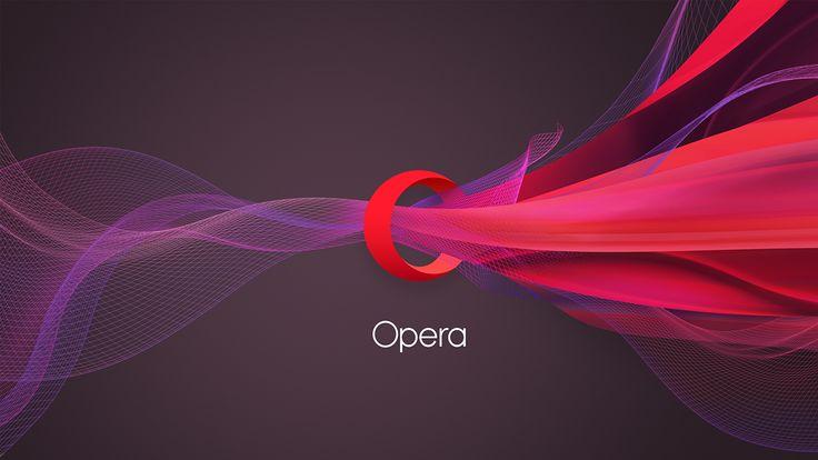 Opera on Behance