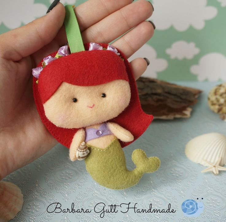 Barbara Handmade...: Mała Syrenka / The little Mermaid