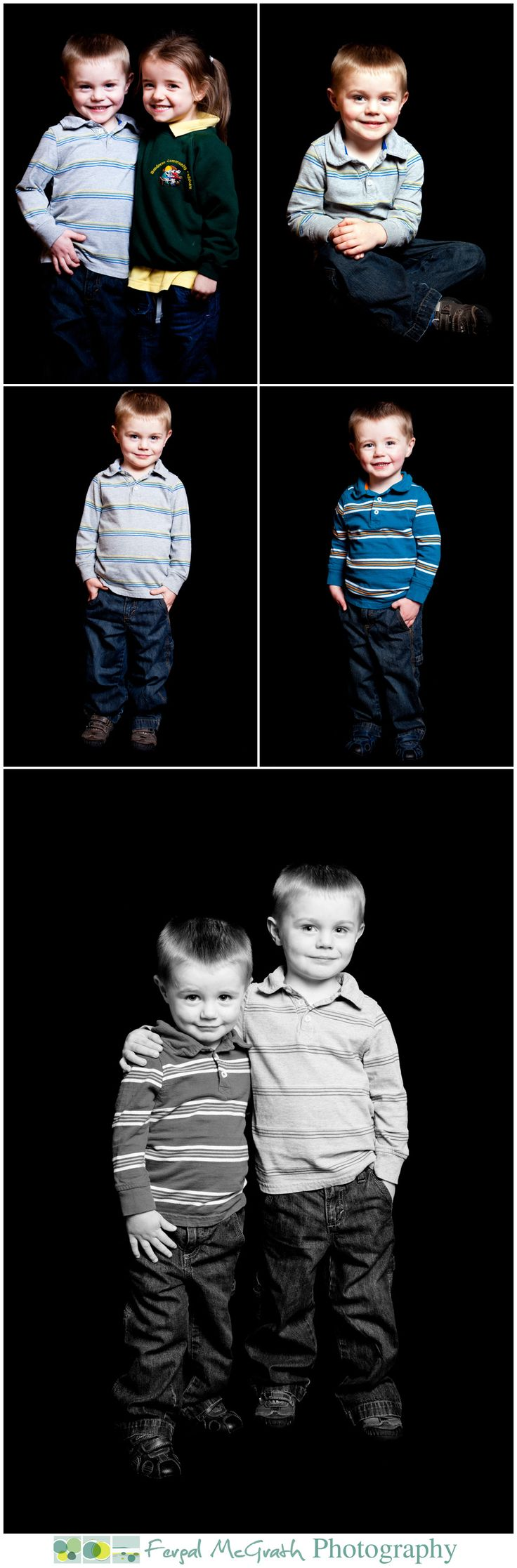 childrens portraits in Donegal
