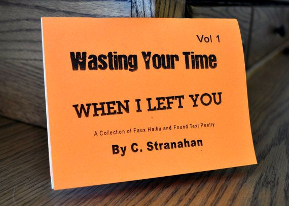 Wasting Your Time Art Zine