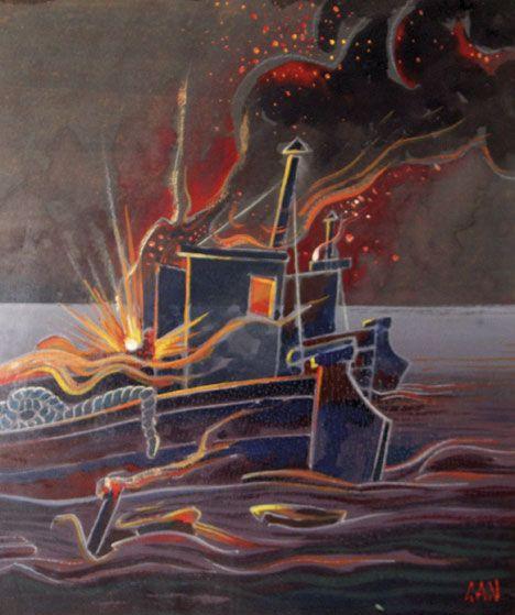 Gosta Adrian-Nilsson (1884-1965) - Explosioner