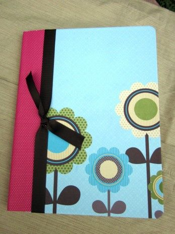 A more polished version of altered composition note books... these are so cheap at back to school time.