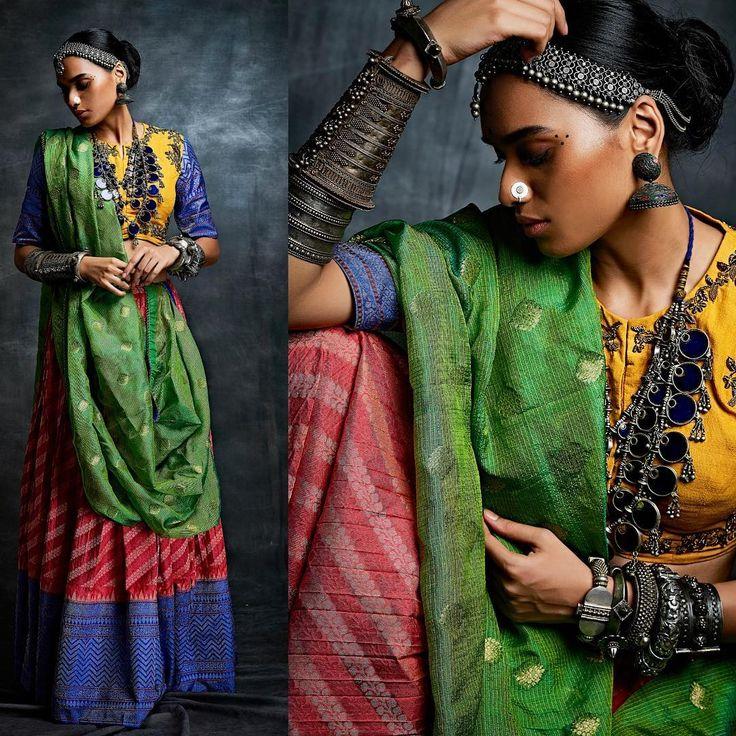 Handcrafted Clothing by #GaurangShah.  #Gaurang #ShahGaurang #Benarasi #Kanjeevaram #IndianTextile #IndianHeritage #Textiles #IndianClothing #VayaWeavingHeritage