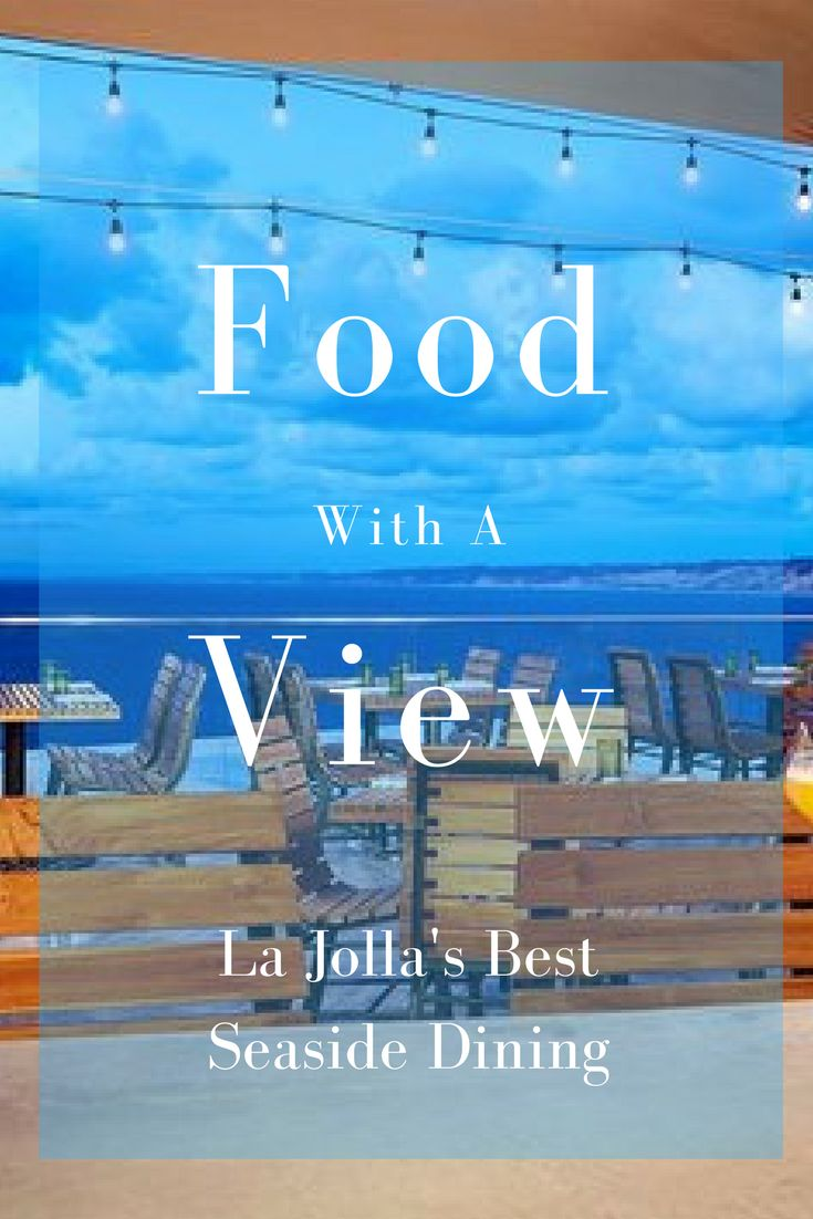 The restaurants in La Jolla, CA are as famous as the city itself. From  sushi to romantic fine dining, you'll be sure to find a great eatery on our  list.