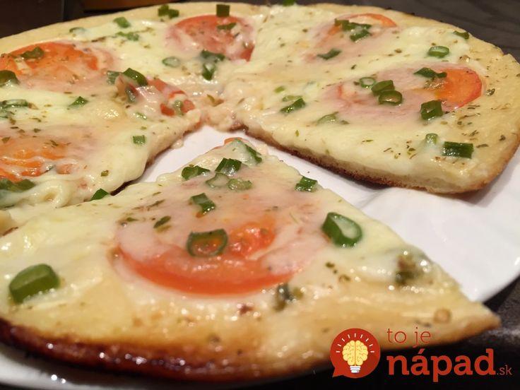 Fotopostup: Superrýchla pizza z panvice