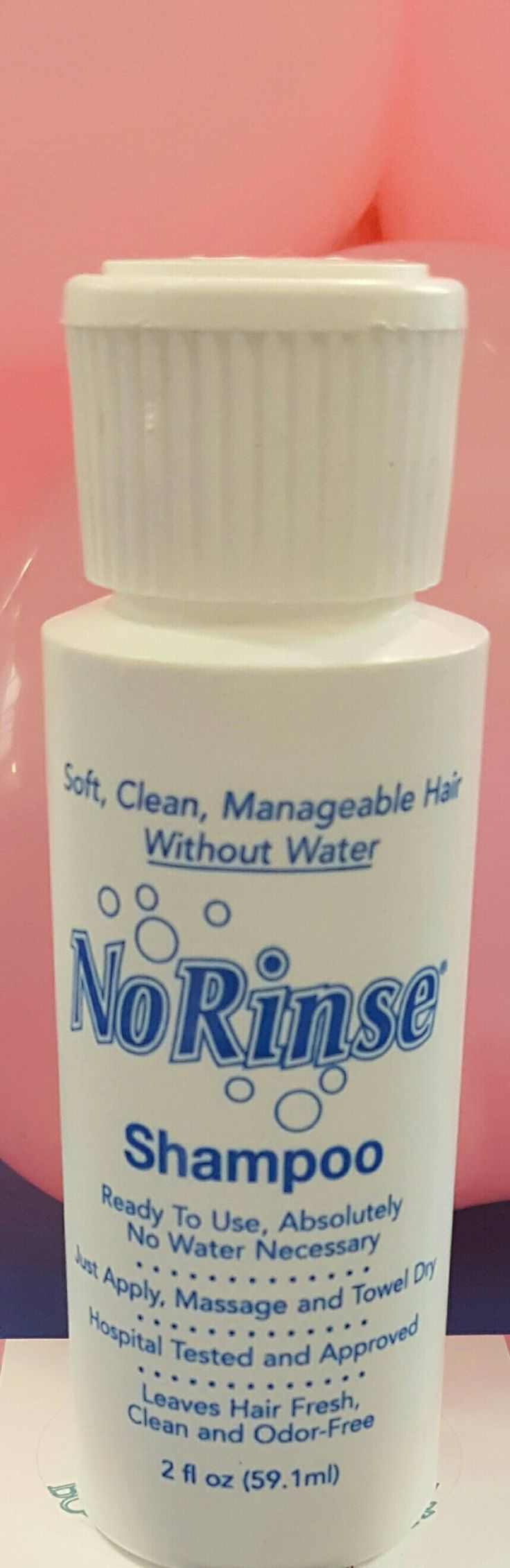 No rinse shampoo is the best for anything from camping too hospital stays. Www.olympiaretreat.com