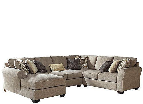 Ramsey 4-pc. Sectional Sofa | Sofa | Sectional sofa, Sofa, Discount ...