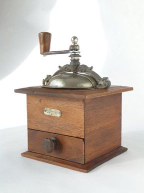 Antique French Japy Freres Coffee Grinder