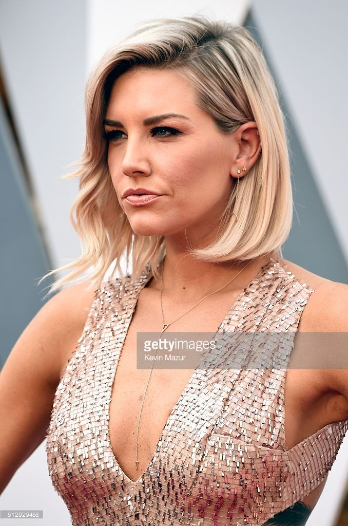 TV personality Charissa Thompson attends the 88th Annual Academy Awards at Hollywood & Highland Center on February 28, 2016 in Hollywood, California.