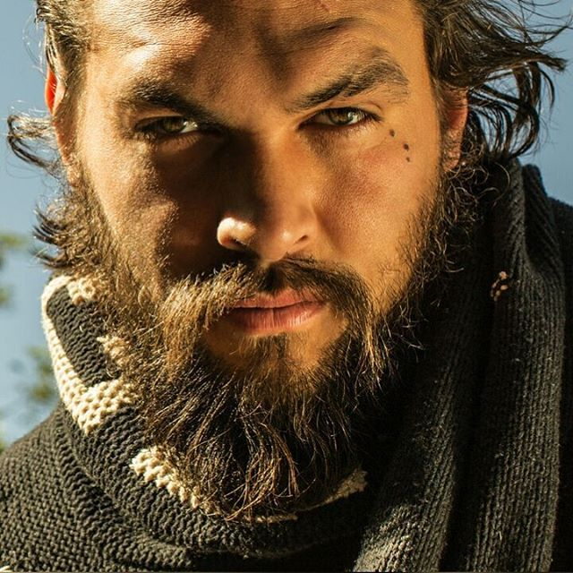 Jason Momoa. I can't even with this guy.
