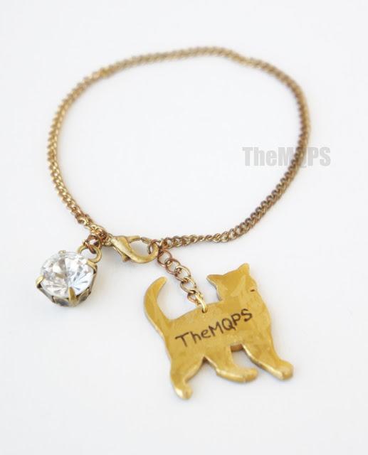 * Złoty Kot * bransoletka handmade, cena: 30 zł    Zapraszam do oglądania, komentowania i ... zamawiania : themqps.blogspot.com