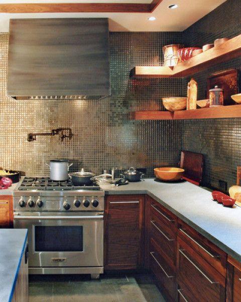 25 beste idee n over keuken rekken op pinterest open for Keuken handigheidjes
