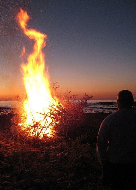 Bonfire Night – Newfoundland, Canada: Bonfire night in Newfoundland and Labrador, Canada. Photo by evanrudemi