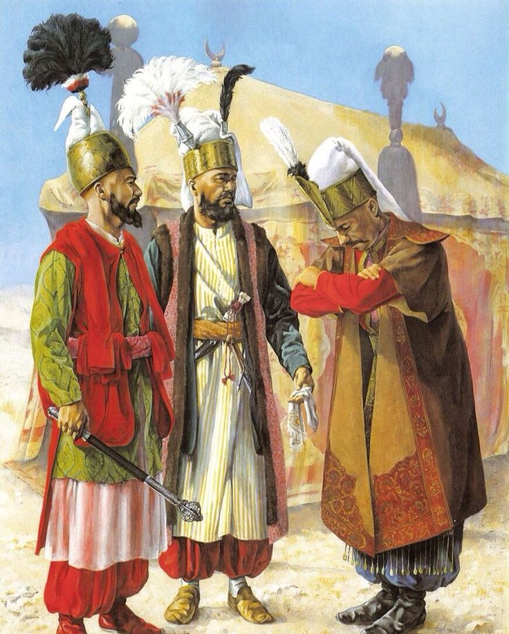 Janissaries • Ottoman soldiers