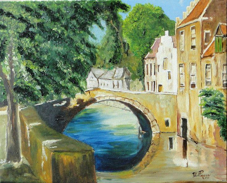 Brugge door Riet de Paauw.