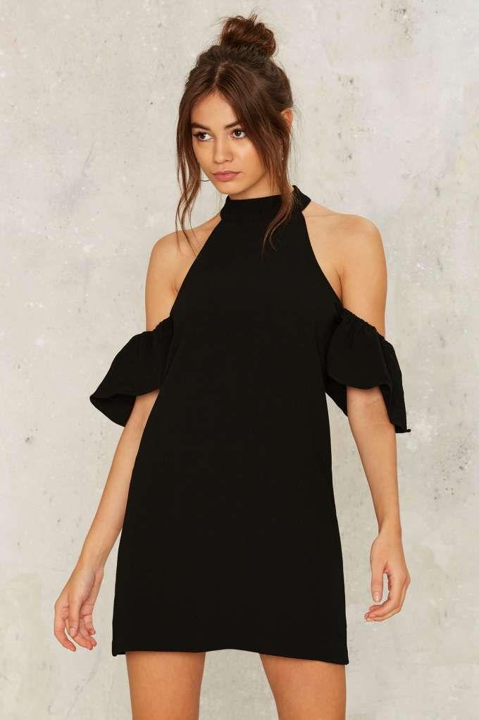 Ginny Cold Shoulder Dress - Best Sellers | Back In Stock | Last Chance | Cocktail Dresses | Black Dresses