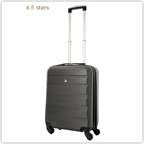 Aerolite 55x40x20 Allowance Lightweight Suitcase