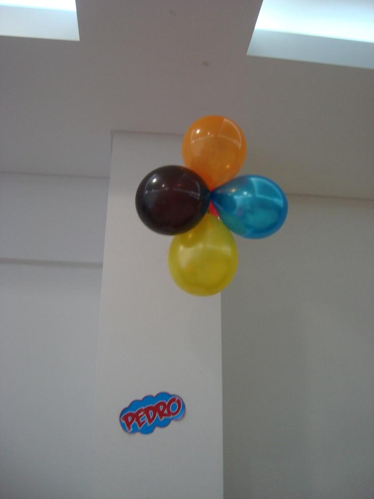 Ramo de globos