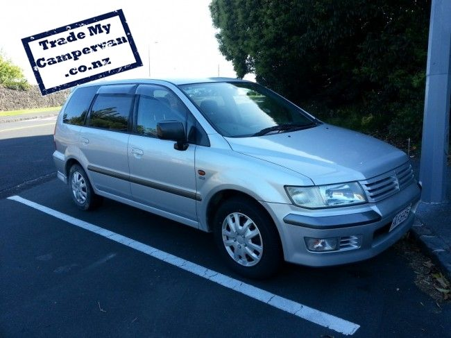Mitsubishi Chariot Campervan for sale only $4,900 More info HERE : trademycampervan.co.nz/buy-a-Campervan/in-Auckland/Mitsubishi-Chariot/for-sale/90/  Located in Auckland  buy and sell campervans with www.trademycampervan.co.nz  #Campervan #Auckland #NZ #NewZealand #Mitsubihi #Chariot #Summer #Backpacking #buy #sale — in Auckland.