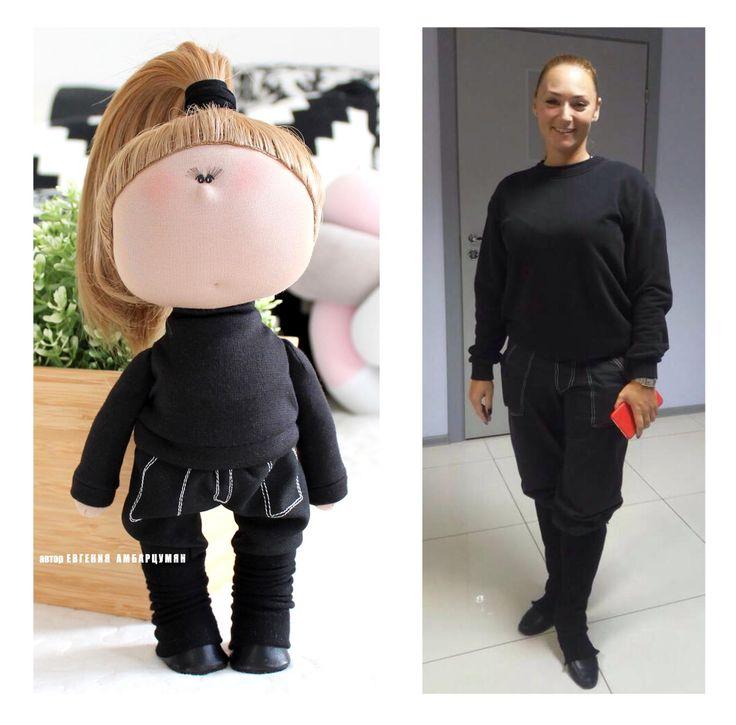 кукла для хореографа eva-dolls.com