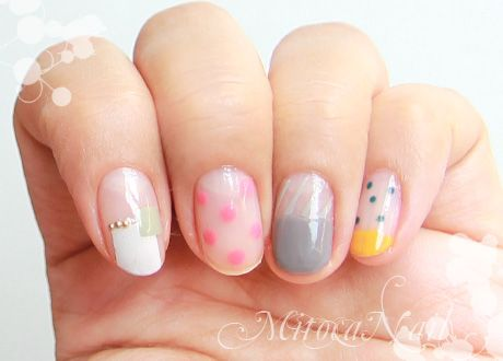 30 Kawaii Japanese Nail Art Collection - Best 25+ Natural Nail Art Ideas On Pinterest Nude Sparkly Nails